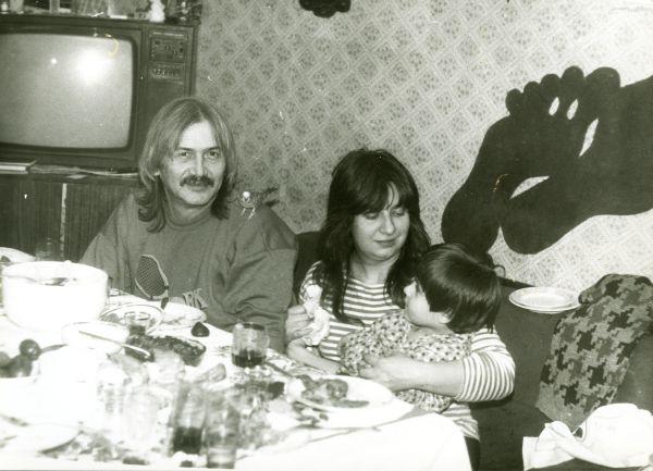 Александр Белоусов и Татьяна Анциферова